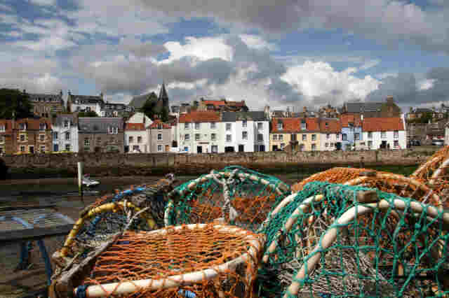 St Monans harbour, Fife (courtesy of Tom Curtis)